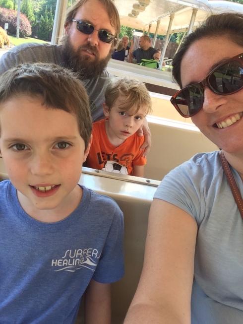 Busch Gardens Tram